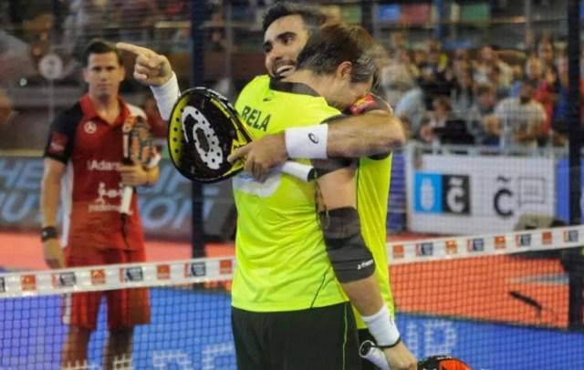 Pablo Lima y Fernando Belasteguín, ganadores en A Coruña