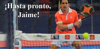Jaime Bergareche se retira como jugador