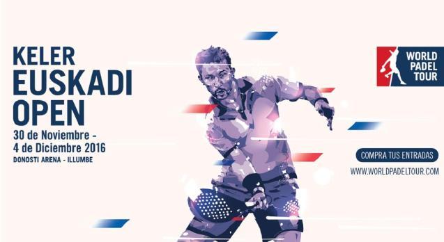 Keler Euskadi Open 2016 en el World Padel Tour