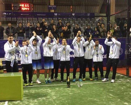 Argentina gana el Mundial de Pádel 2016