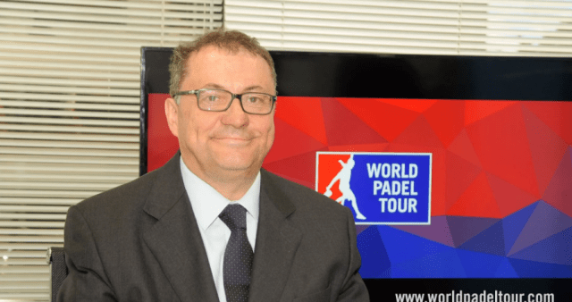 Ramón Agenjo presidente World Padel Tour