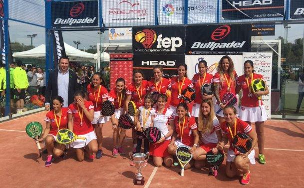 Ganadoras Cto de España por Equipos de 1ª Categoría