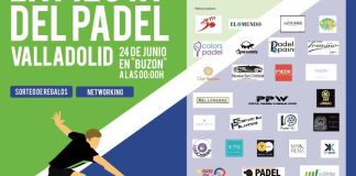Cartel final La fiesta del Padel 2017