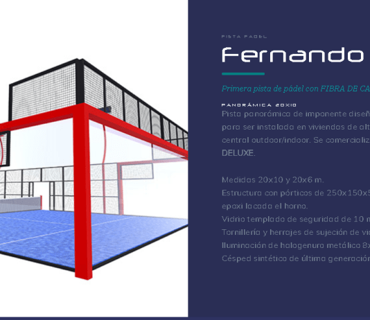 Fernando Poggi pista de pádel