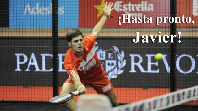 Javier Concepción se retira