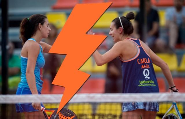 Carla Mesa y Marta Talaván se separan