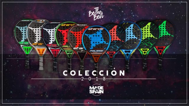 Colección palas StarVie 2018
