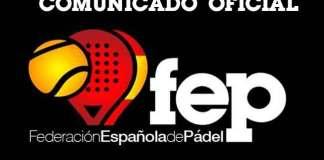 Preseleccionados españoles para el Mundial de Pádel 2018