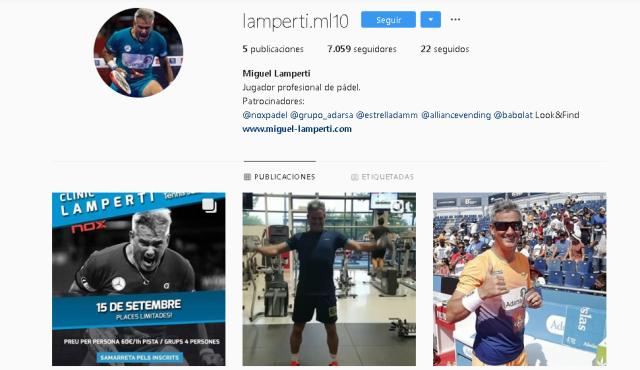 Miguel Lamperti Instagram