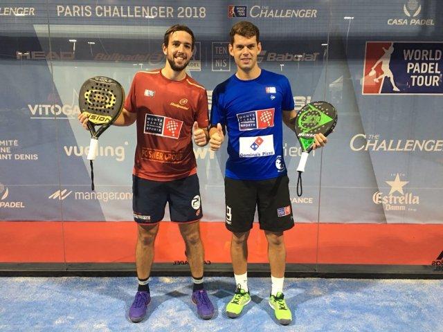 Subcampeones París Challenger 2018