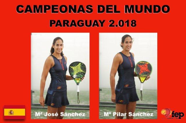 Ganadoras Campeonato Mundial por parejas 2018