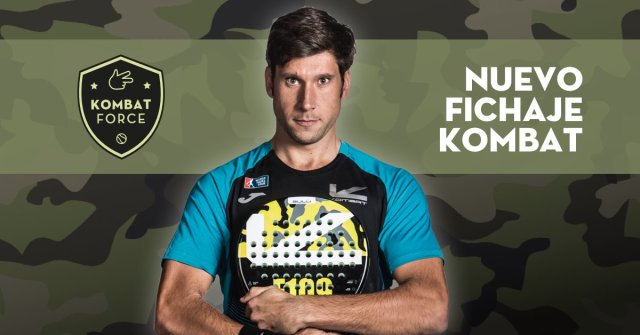 Nacho Gadea ficha Kombat Padel