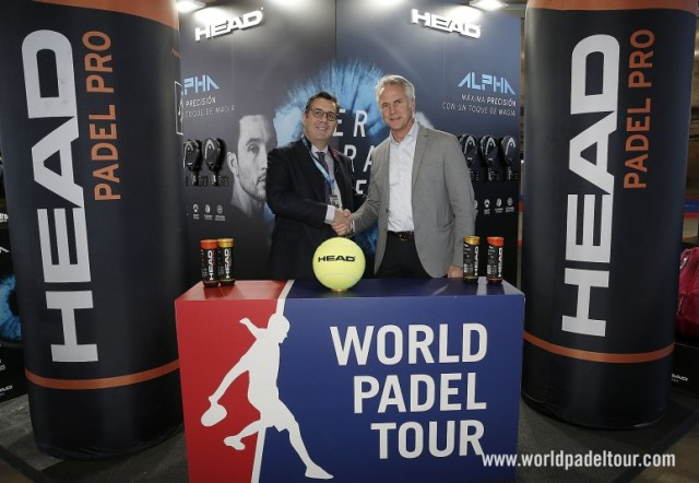 HEAD, pelota oficial del World Padel Tour