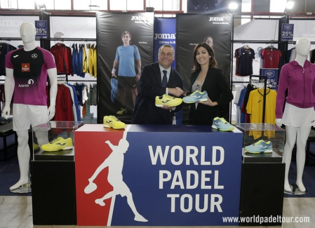 JOMA, calzado oficial del World Padel Tour