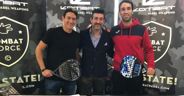 Uri Botello y Javi Ruiz renuevan con Kombat Padel