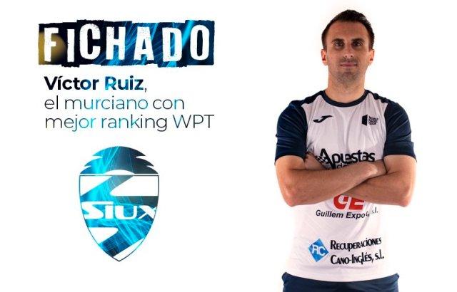 Víctor Ruiz ficha por Siux Padel