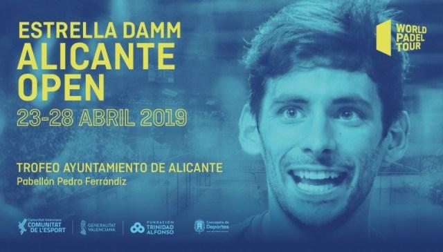 Estrella Damm Alicante Open 2019 cartel masculino