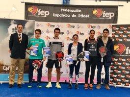 ganadores Cto España Padel 2019