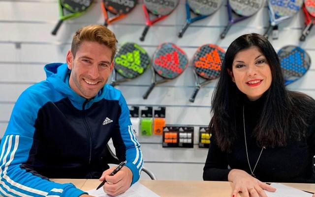Alex Ruiz renovación Adidas Padel