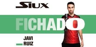 Javi Ruiz fichaje Siux Padel
