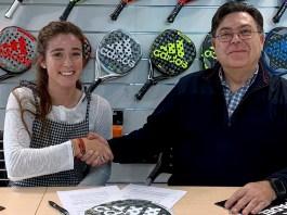 Martita Ortega renovación Adidas Padel
