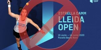 Lleida Open 2020 suspendido
