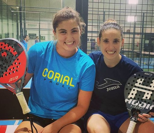 Nuria Rodríguez y Marina Guinart pareja