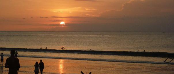 puesta de sol-bali