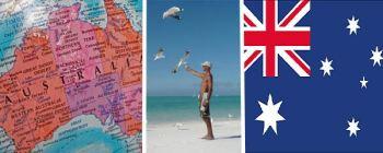 bandera-y-mapa-australia