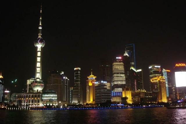 Vistas de Shanghai des del paseo enfrente del río