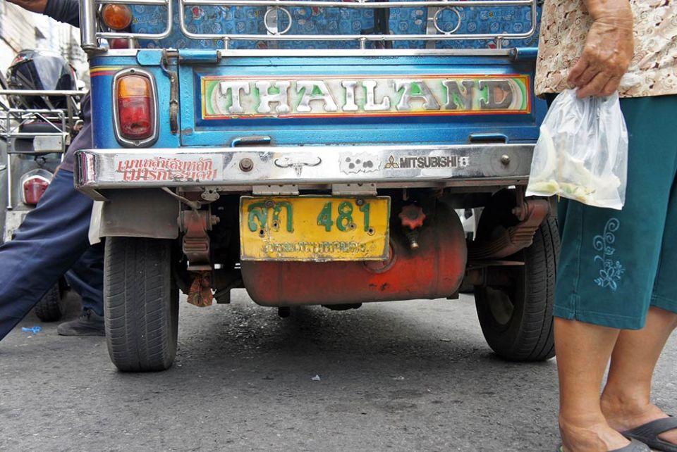 Como viajar por Tailandia: Los transportes del país