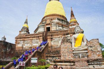 Visitar las ruinas del antiguo Reino de Ayutthaya ¿Cómo ir desde Bangkok?