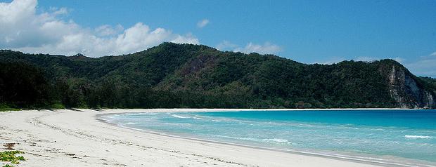Una de las playa mas bonitas de la isla de Komodo