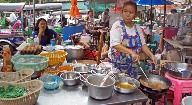 La-cocina-de-un-restaurante-callejero