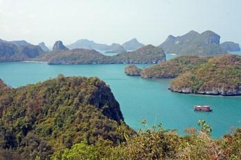 El Parque de Ang Thong, 42 islas protegidas en el Golfo de Tailandia