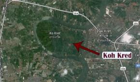 Mapa de Koh Kred en Google Maps