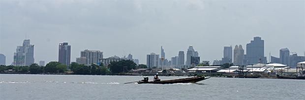 Barca a Bang Krachao