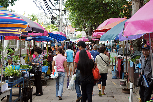 Mercado de Koh Kred