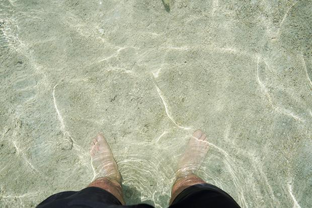 Agua-transparente