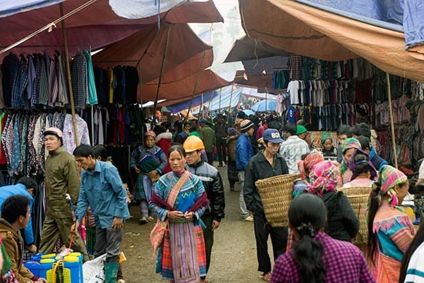 Mercado de Vietnam
