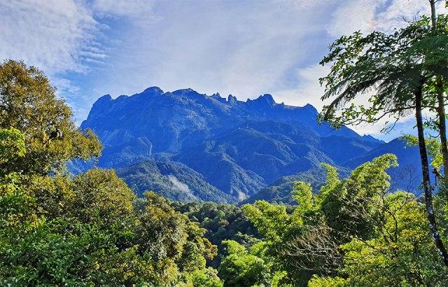 Vistas del Kinabalu