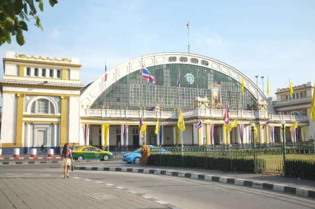 estación de tren de Hua Lamphong