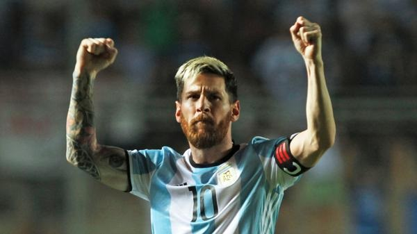 Lionel Messi Colombia goal