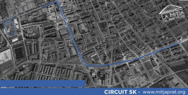 La mitja del Prat i cursa de 5k