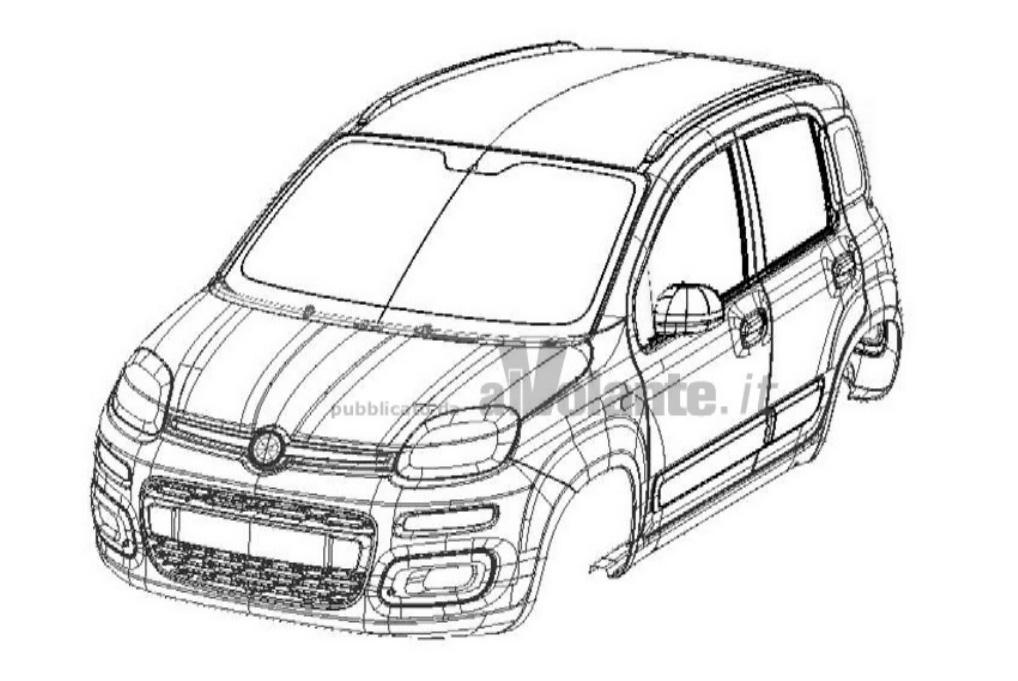 Nuevo Fiat Panda, un anticipo gráfico de la tercera