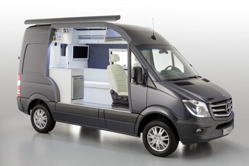 mercedes benz sprinter caravan concept mundoautomotor. Black Bedroom Furniture Sets. Home Design Ideas
