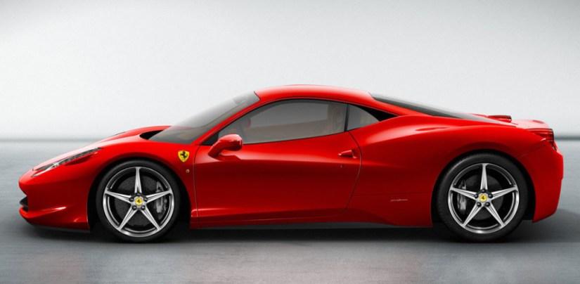Ferrari 458 Itália - Lateral