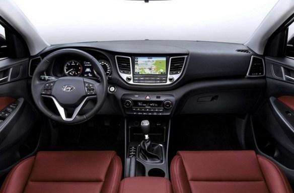 Hyundai IX35 2016 -Interior
