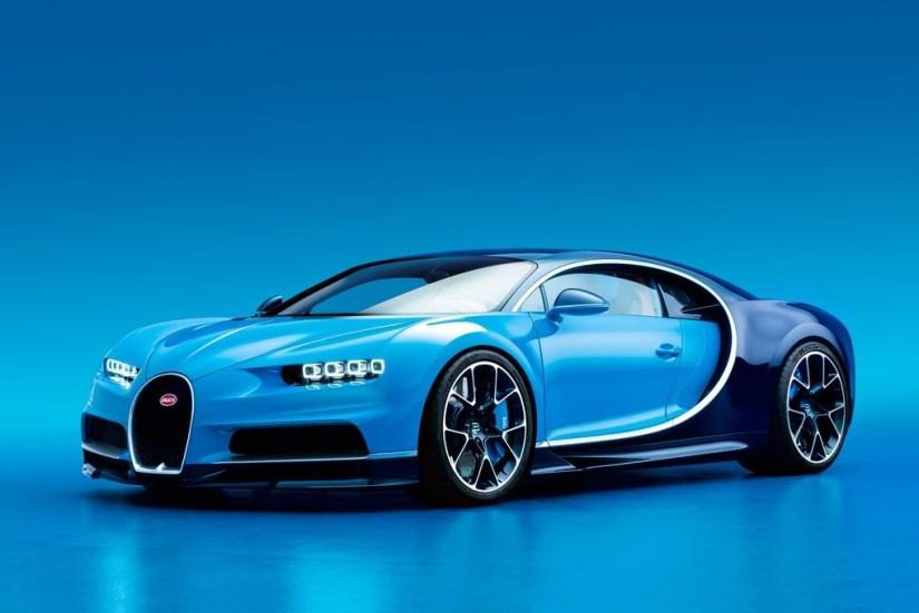 Bugatti Chiron - Lateral