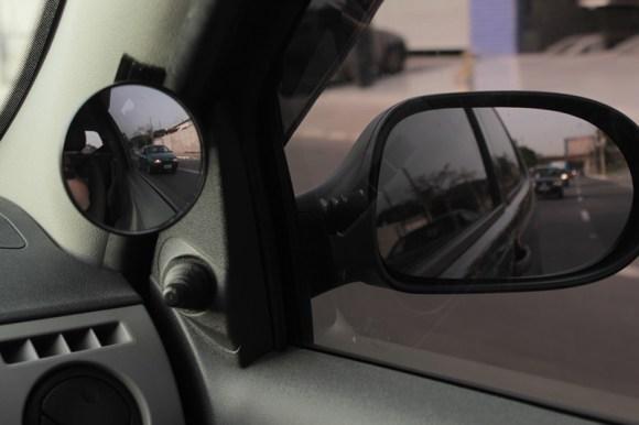 Espelho Convexo - Ponto Cego